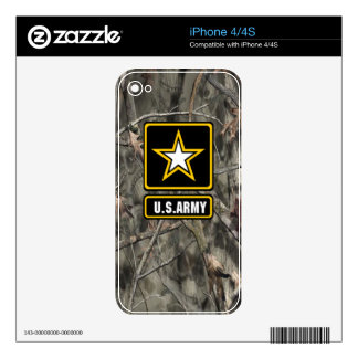 Skulls Camo Skin Skin For The iPhone 4S
