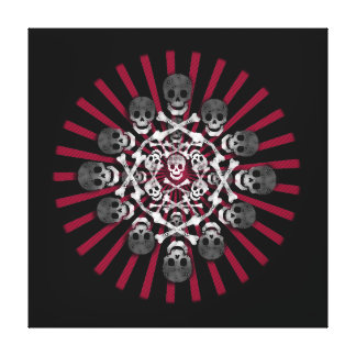 skulls gallery wrapped canvas