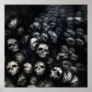Skulls canvas posters