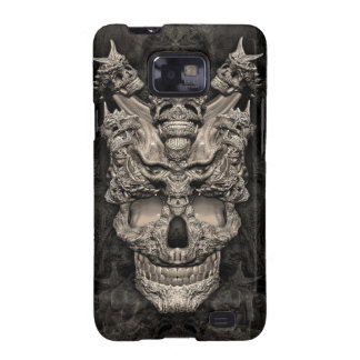 Skulls Samsung Galaxy SII Case