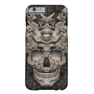 Skulls Barely There iPhone 6 Case