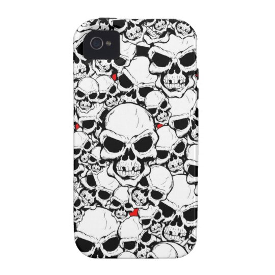 SKULLS CASE FOR THE iPhone 4