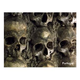 Skulls - Chapel of Bones, Evora, Portugal Postcard