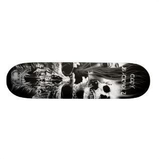 Skulls, Codybuckholz, Zero, Tolerance Skateboard Deck at Zazzle