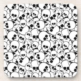 Skulls Cork Coaster