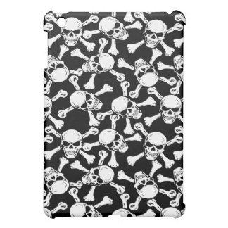 Skulls & Crossbones iPad Case (Black & White)