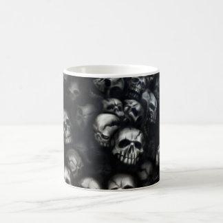 Skulls cup coffee mug