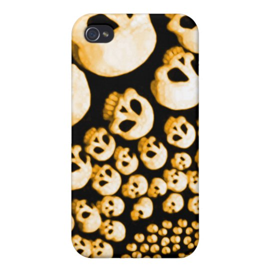 Skulls Cyclone iPhone 4/4S Cover