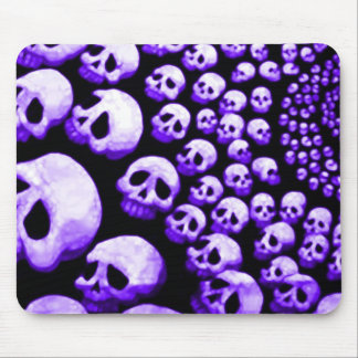 Skulls Cyclone - Purple Haze Mouse Pad