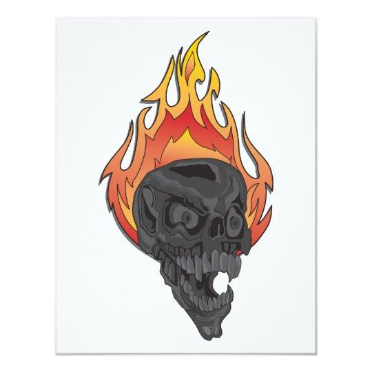 """Skulls-for-Cafe-Press3 Invitación 4.25"""" X 5.5"""""""