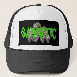 skulls_group1, SADISTIC Trucker Hat