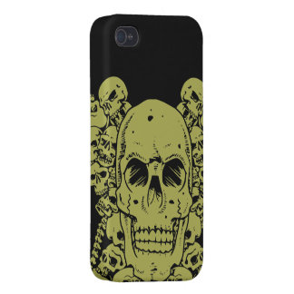 Skulls Group Cases For iPhone 4