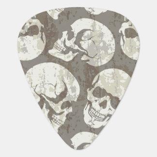 Skulls Guitar Pick