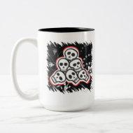 Skulls Halloween Mugs mug