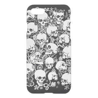 Skulls illustration iPhone 8/7 case