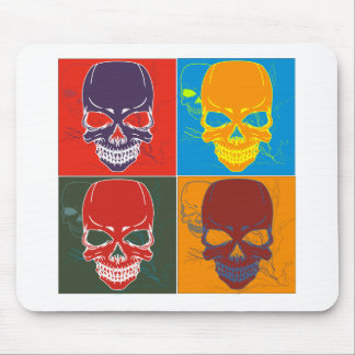 Skulls in Color Mouse Pad