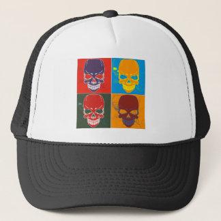 Skulls in Color Trucker Hat