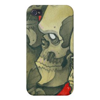 skulls iPhone 4 case