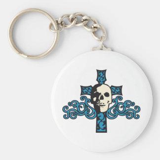 Skulls Keychain