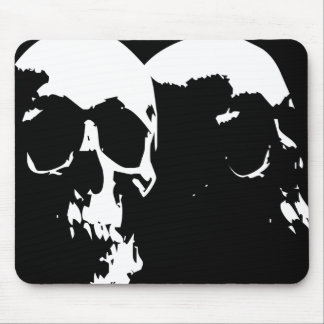 skulls mouse pads