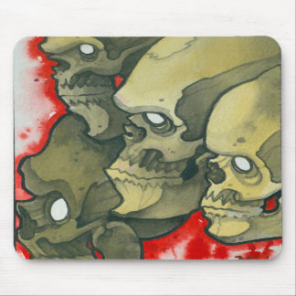 skulls mousepads