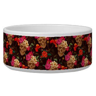 Skulls 'n Roses Pattern Bowl