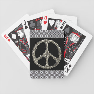 Skulls Of Peace Bicycle Playing Cards