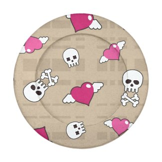 Skulls Pack Of Small Button Covers