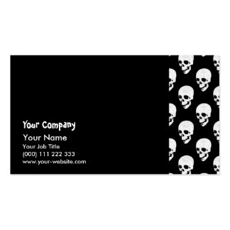 Skulls pattern Double-Sided standard business cards (Pack of 100)
