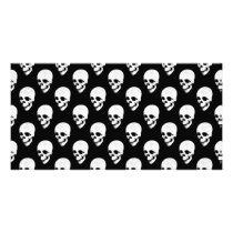 Skulls pattern card