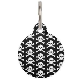 Skulls Pet ID Tag