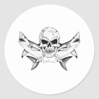 Skulls/Pirates Collection by FishTs.com Stickers