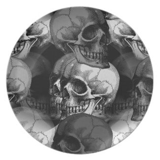 skulls plate