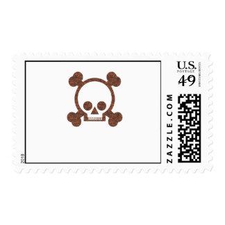 Skulls Stamp