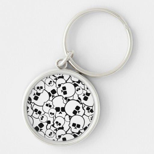 Skulls Premium Keychain
