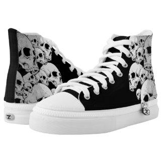Skulls Printed Shoes