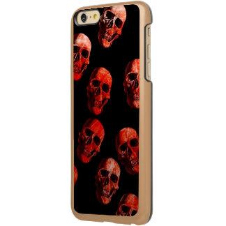 skulls red 3 incipio feather® shine iPhone 6 plus case