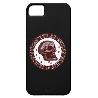Skulls Red White 2 iPhone SE/5/5s Case