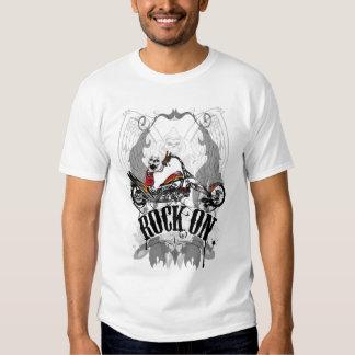 Skulls Rock On T Shirt