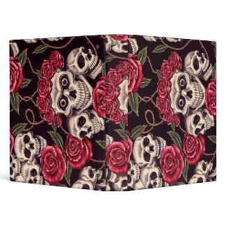 Skulls & Roses binder