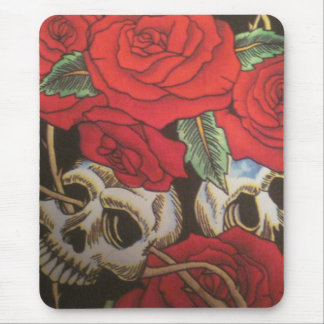 Skulls/Roses Mouse Pad
