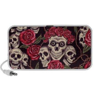 Skulls & Roses doodle