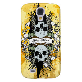 Skulls & Scrolls Personalized iPhone 3G Case Galaxy S4 Cases
