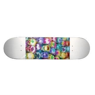 skulls skateboard