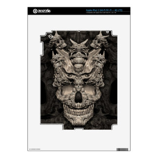 Skulls Skin For iPad 3