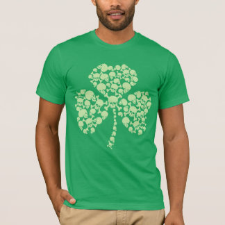 Skulls St Patricks Day T-Shirt