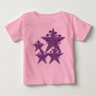 Skulls Stars Purple K Baby T-Shirt