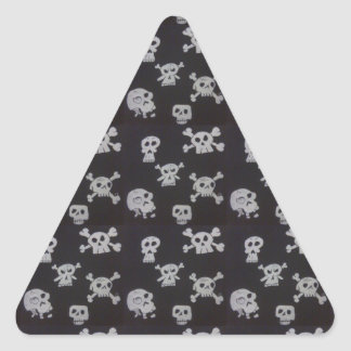 Skulls Triangle Stickers