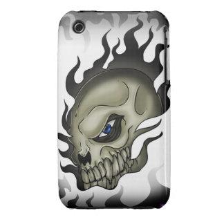 skulls tatoo 2 iPhone 3 Case-Mate case