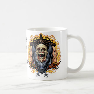 Skulls, Vampires and Bats customizable by Al Rio. Coffee Mug